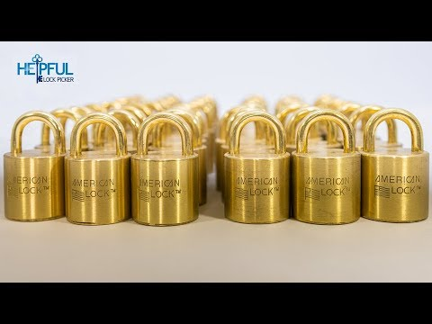 [400] Unboxing of 48 Brass American S100 Padlocks! | The Largest Unboxing EVER Caught On Camera