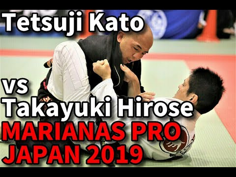 Tetsuji Kato vs Takayuki Hirose / Marianas Pro Japan 2019