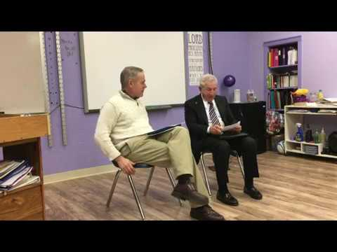 Gary Passero interviewed at The Charles Finney School