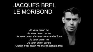 jacques-brel---le-moribond-french