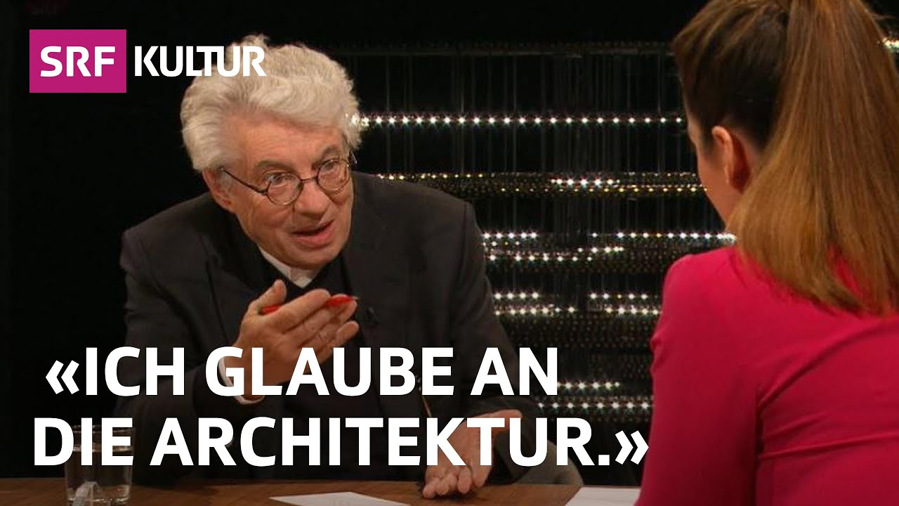 Architekt Mario Botta – Bauen als eine heilige Handlung? | Sternstunde Religion | SRF Kultur