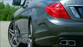Mercedes-Benz CL 63 AMG C216. Driving scenes and design.
