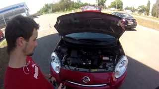 Тест драйв от Коляныча #7 Nissan Micra 2014 (Ниссан Микра)