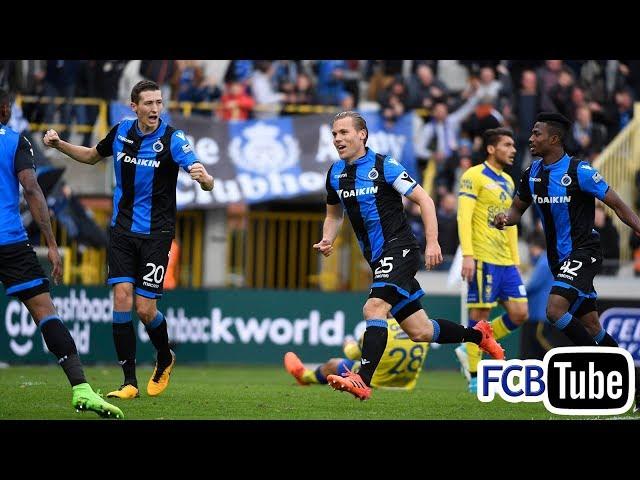 2017-2018 - Jupiler Pro League - 13. Club Brugge - Sint-Truiden 4-1