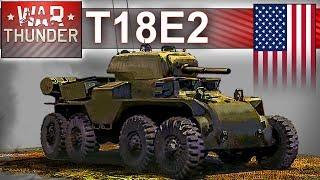 T18E2 - niezwykły pojazd w War Thunder - realistyk