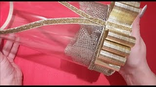 Свадебная коробка прозрачная простой способ ✔ Marine DIY Guloyan✔