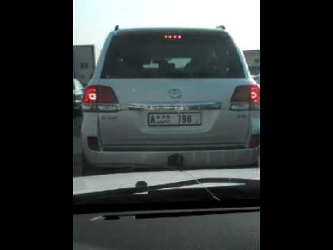 Landcruser With 786 Number Plate In Dubai Youtube