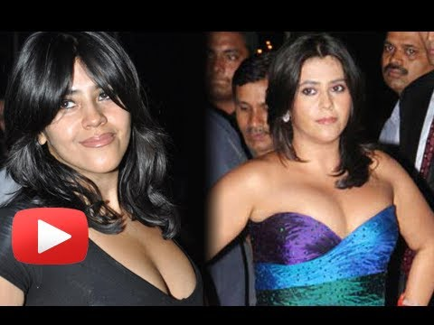 Ekta Kapoor Cleavage Show - HOT Or NOT ? thumbnail