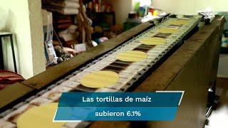 Bolsillo de los mexicanos resiente encarecimiento de  tortilla,  pollo y carne de res; confinamiento eleva costo de computadoras,  televisores y servicios de telecom