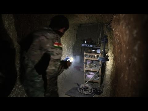 Battle for Mosul Uncovers ISIS Tunnel Network
