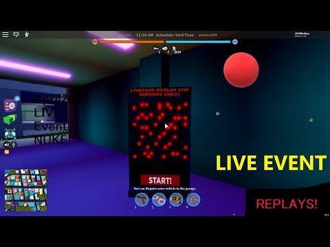 Jailbreak NUKE LIVE Event (REPLAYS!)
