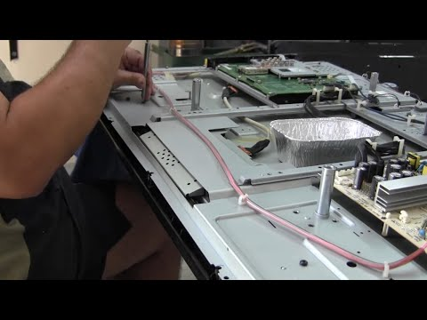 How to repair an LCD/LED TV