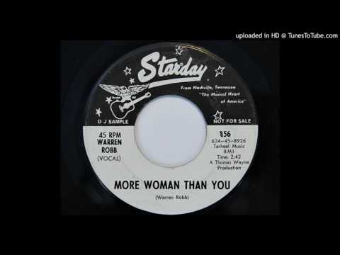 Warren Robb - More Woman Than You (Starday 856)