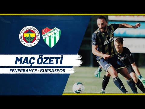 MAÇ ÖZETİ: Fenerbahçe 2-0 Bursaspor