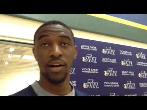 Utah Jazz rookie Ian Clark discusses his extra playing time