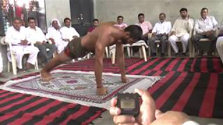 New world record knuckle push-ups