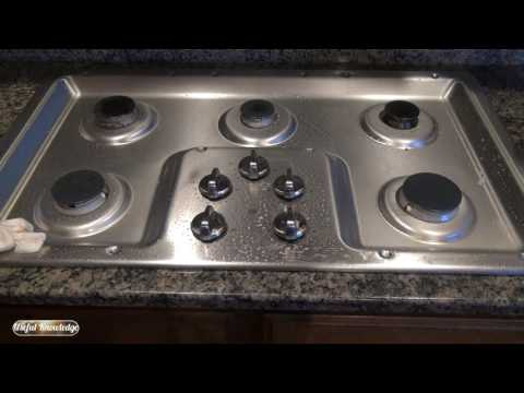 How to Clean Stainless Steel Stove Top with Vinegar | Useful Knowledge
