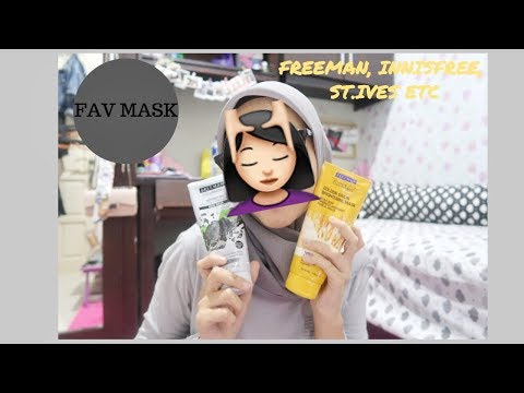 MASKER FAVORIT | freeman, innisfree, st.ives etc