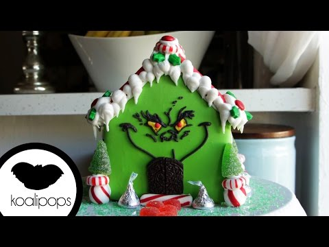How to Make the Grinch Gingerbread House | Become a Baking Rockstar