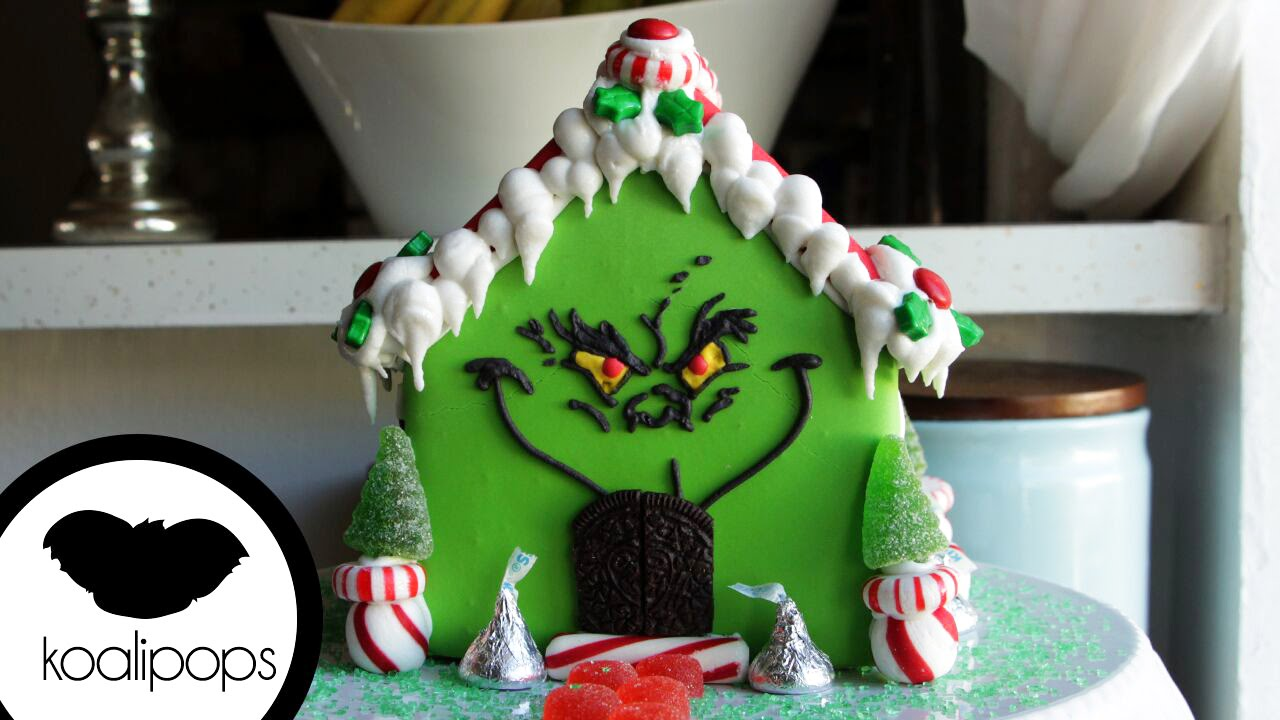 how to make the grinch gingerbread house become a baking rockstar youtube - Nightmare Before Christmas Gingerbread House