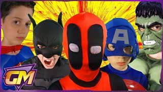 Video Deadpool Vs Superman V Batman V Captain America V Hulk V Joker - POV download MP3, 3GP, MP4, WEBM, AVI, FLV Maret 2017