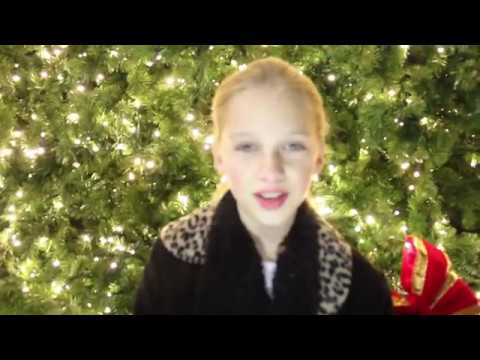 EDEN GRACE MALLOY SILENT NIGHT DUETS WITH HERSELF AGE 10 AND 6