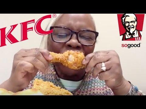 KFC GEORGIA GOLD  CHICKEN • REVIEW and MUKBANG