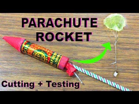 जानिये Parachure ROCKET का सच और Parachute Rocket testing