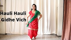 Dance tutorial on Hauli Hauli Gidhe Vich | Garry Sandhu