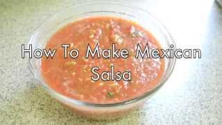 5 Ingredient Mexican Salsa Recipe