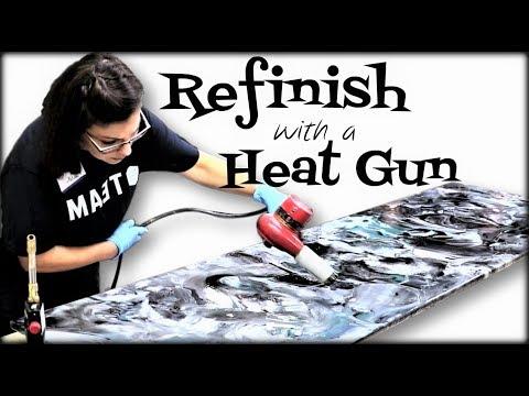 Refinishing with a Heat Gun