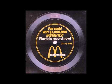 McDonald's $1,000,000 Record - 1988 Contest