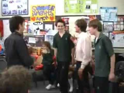 Summer Heights High - Mr. G's Drama Room (Behind The Scenes)