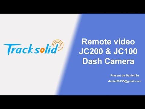 Remote Video on smartphone JC100 JC200 Daash Cam