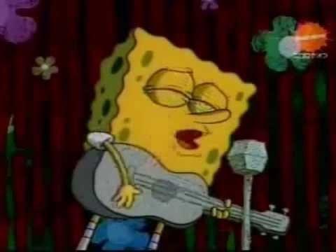 Spongebob sings uptown funk you up by mark ronson ft bruno mars