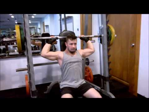 smith machine overhead press
