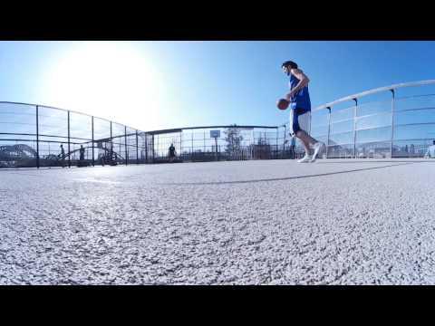 360° Basketball Practice In Frankfurt Am Main Hafenpark