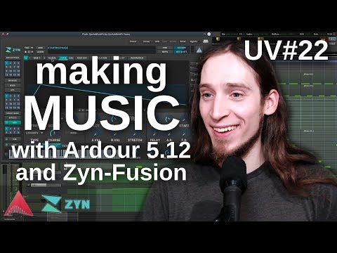 UV#22 Track from scratch: Zyn-Fusion and Ardour