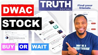 SHOULD YOU BUY DWAC STOCK?🔥🔥🔥DONALD TRUMP'S TRUTH SOCIAL STOCK TO $300?