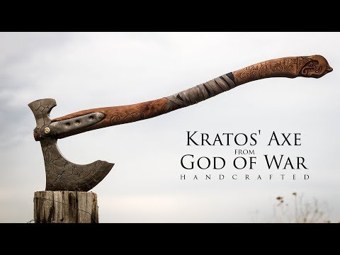 Making Kratos' Axe - Leviathan - God of War