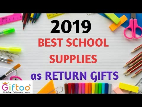 New Arrival Birthday Return Gifts For Kids School Supplies India