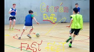 "MINI MESSI ""60 SECONDS OF FAST FEET AT FUTSAL"""