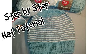 How to Knit a Hat - A Step by Step Tutorial