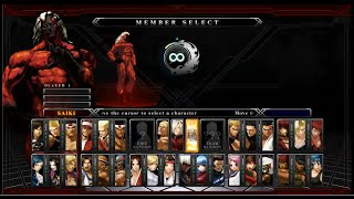 The King of Fighters XIII Steam(arcade mode)-boss team