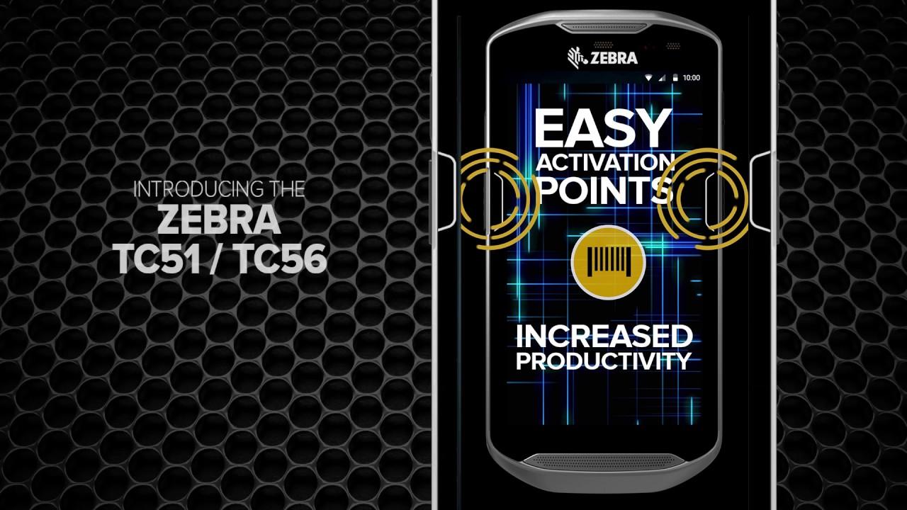 Zebra TC56 Touchscreen Handheld Computer (Sim Ready)