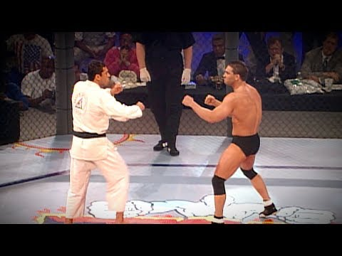 UFC 5 Free Fight: Ken Shamrock vs Royce Gracie (1995)
