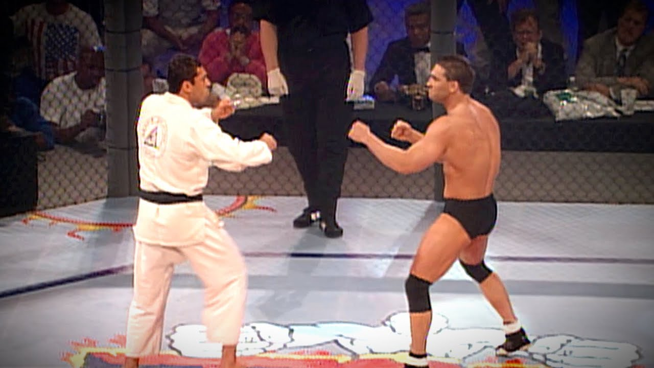 UFC 5: Ken Shamrock vs Royce Gracie (1995)
