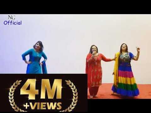 Nadia Gul Super Hit Song Attan  In Qatar Super Hit Show