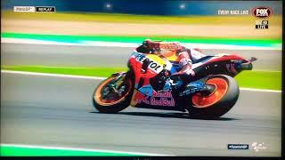 Insane Marc Marquez Slide!!! Jerez Spain 2018