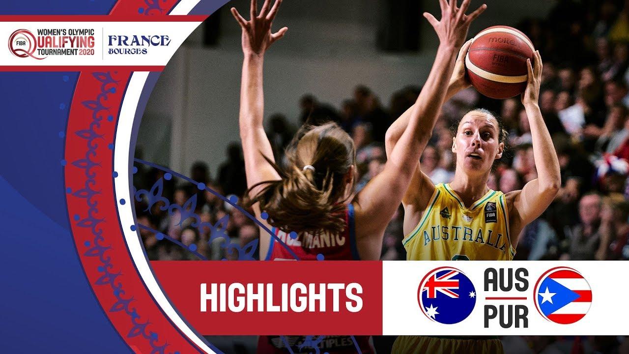 Australia v Puerto Rico - Highlights